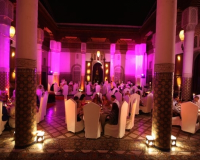 Diner room - Wedding Marrakech