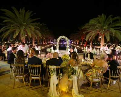 open air wedding